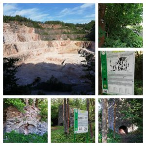 Cerny Dul Vapenca wandeling (1 km)