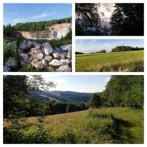 Wandeling rondom de steengroeve (4 km)
