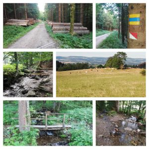 Cerny Duil Barbory wandeling (5 km)